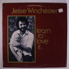 JESSE WINCHESTER: Learn To Love It LP (disc close to M-, small toc, slight cove