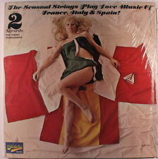 SENSUAL STRINGS: The Love Music Of France, Italy & Spain LP (2 LPs, staple hole