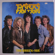 TYGERS OF PAN TANG: The Wreck-age LP (UK/France, inner sleeve, small toc) Metal