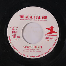 RICHARD 'GROOVE' HOLMES: The More I See You / On The Street Where You Live 45 (