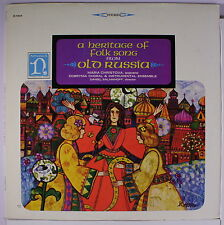 MARIA CHRISTOVA: A Heritage Of Folk Song From Old Russia LP (sl cw) Internation