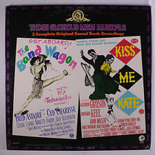 VARIOUS: Those Glorious Mgm Musicals; The Band Wagon, Kiss Me Kate LP (2 LPs, g