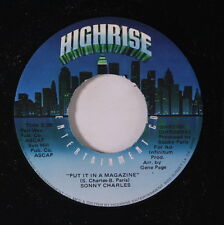 SONNY CHARLES: Put It In A Magazine / The Week End Father Song 45 Soul
