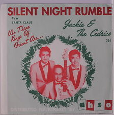 JACKIE & CEDRICS: Silent Night Rumble / Santa Claus Is Coming To Town 45 (PS, g