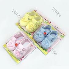 Toddler Baby Girl Boy Cotton Anti-slip Soft Sole Sneakers Shoes Newborn to 12M