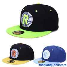 New Fashion Men's Women's R Hip-hop Hats Snapback Adjustable Baseball Cap Unisex