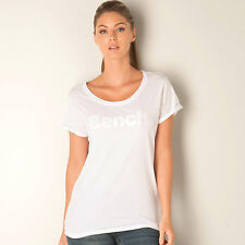 Womens Bench Citizzen T-Shirt In White From Get The Label