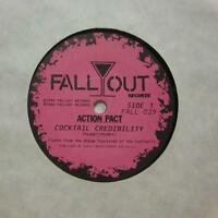 """Action Pact(7"""" Vinyl)Cocktail Credibility-Fall Out-FALL 029-NM/NM"""