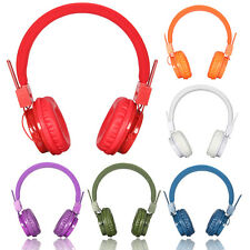 Foldable Wireless Bluetooth Stereo Headset Headphone Earphone w/Mic USB/DC TF FM