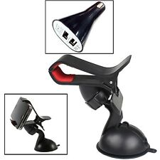 360° CLIP WINDSCREEN SUCTION MOUNT HOLDER WITH BULLET FOR 2014/2015 SMARTPHONES
