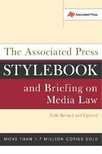 The Associated Press Stylebook and Briefing on Media Law (Updated Ed.)