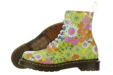 Dr. Martens Pascal 13512701 Vintage Daisy Leather Boots Medium (B, M) Womens