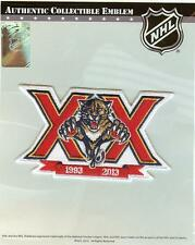2013 2014 Florida Panthers 20th Anniversary Patch 100% Official NHL Jersey Logo