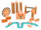 NEW LONDON CITY IN A BAG 18 WOODEN PIECES. TOY MODEL