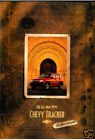 1999 Chevrolet Geo Tracker 32-page Original Car Sales Brochure Catalog - Chevy
