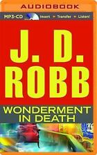 In Death: Wonderment in Death by J. D. Robb (2015, MP3 CD, Unabridged)
