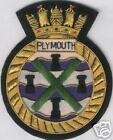 UK Britain British HMS Royal Navy Plymouth Frigate Class Patch Badge Ship War