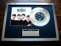"THE BEATLES FROM ME TO YOU PLATINUM DISC 7"" SINGLE RECORD AWARD"