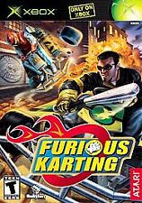 Furious Karting For Xbox Original Racing With Manual and Case 6E Very Good