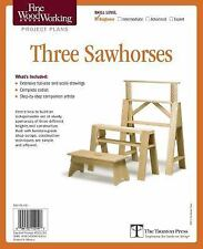 Fine Woodworking's Three Sawhorses Plan by Editors of Fine Woodworking (2011,...