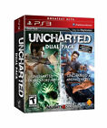 NEW SEALED Playstation 3 Uncharted Dual Pack Hits Drakes Fortune & Among Thieves