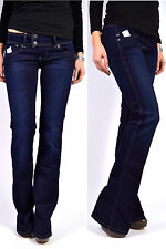 Pepe Jeans Pimlico d12 golpe jeans flared fit azul oscuro nuevo