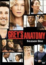Grey's Anatomy Season One DVD Brand New 2 Disc Set Patrick Dempsey FactorySealed