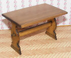 1:12 Scale Shaped End Table Dolls House Miniature Pub - Bar Furniture Accessory