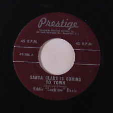 "EDDIE ""LOCKJAW"" DAVIS: Santa Claus Is Coming To Town / Christmas Song 45 Jazz"