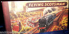 FLYING SCOTSMAN BOOKLET Train Rail way Engine Model Steam station Old Antique UK