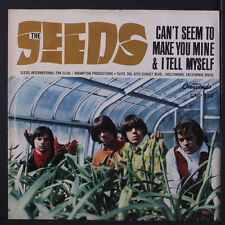 SEEDS: Can't Seem To Make You Mine / I Tell Myself 45 (PS) rare Rock & Pop