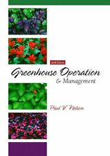 Greenhouse Operation and Management (6th Edition), Nelson, Paul V., Good Book
