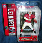 MCFARLANE NFL SERIES 13 MATT LEINART ARIZONA CARDINALS ROOKIE VARIANT FOOTBALL