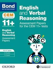 Bond 11+: English and Verbal Reasoning: Assessment Papers for CEM by...