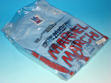 Mighty Marvel March 1978 Vintage Junk Food T-Shirt Size Large New York Blue NWT