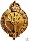 WW1 THE WELSH GUARDS POUCH BADGE BRASS METAL K.C