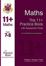 11+ Maths Practice Book with Assessment Tests (Age 7-8) for the CEM Test by...