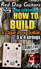 Build a Cigar Box Guitar DVD,This is perfect for kits, slide dobro or electric