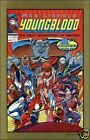 Youngblood #1 Vol 1 comic book 2nd printing Rob Liefeld