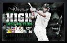 MICHAEL HUSSEY SIGNED RETIREMENT LIMITED EDITION HIGH DISTINCTION PRINT
