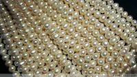 Wholesale 10Strands 9-10mm Round Freshwater Pearl Beads