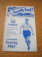 27/01/1962 Preston North End v Weymouth [FA Cup] (Slight Creased & Score Inside)