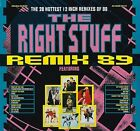 (VINYL LP) 1989 REMIX THE RIGHT STUFF/VARIOUS ARTISTS 2 LP GATEFOLD SET
