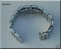 22mm Quality SOLID POLISH HEAVY STAINLESS STEEL BAND,BRACELET FITS SMART Watch