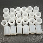 Hot Sell 24PCS Size 9mm White Rubber Tobacco Smoking Pipe Tip Grips