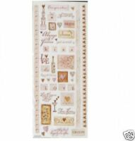 """2 SHEETS OF STICKABILITIES """"ALWAYS & FOREVER"""" STICKERS"""