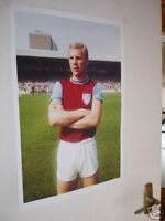 Bobby Moore Colour 1964 West Ham United Door Poster