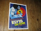 Elvis Presley on Tour Repro Advertising POSTER
