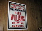 Hank Williams Repro Tour POSTER