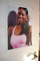 Serena Williams Wimbledon Winner Tennis Poster Smile